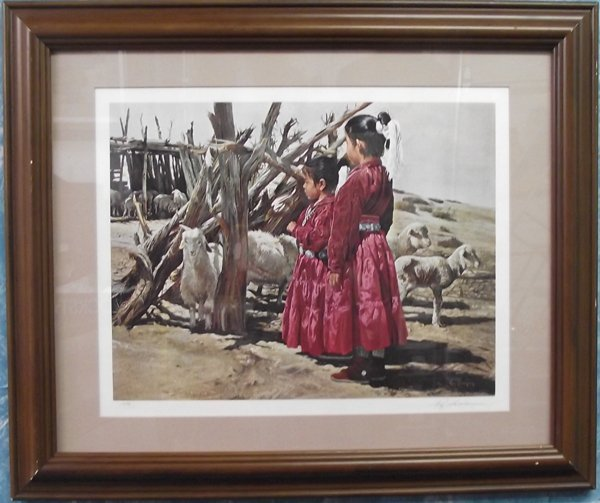 Hand Signed Print by CA Artist Ray Swanson