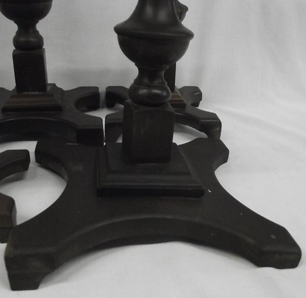 Seven Antique Wooden Hat Stands - 3