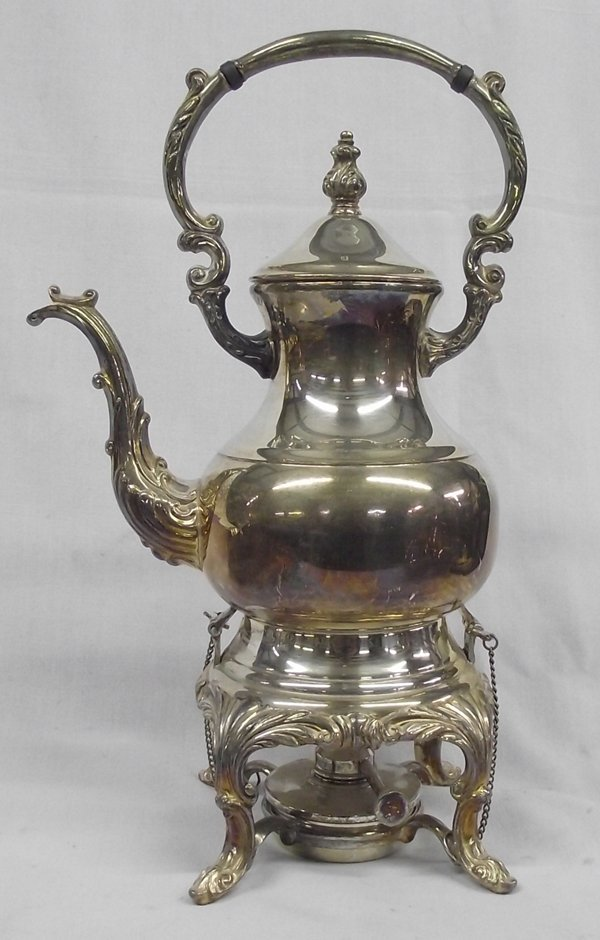 L.B. Rogers Co. Silver Plate Tea & Coffee Service - 5