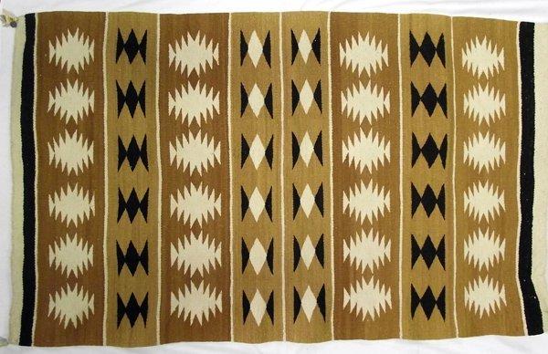Navajo Crystal Natural Dye Rug