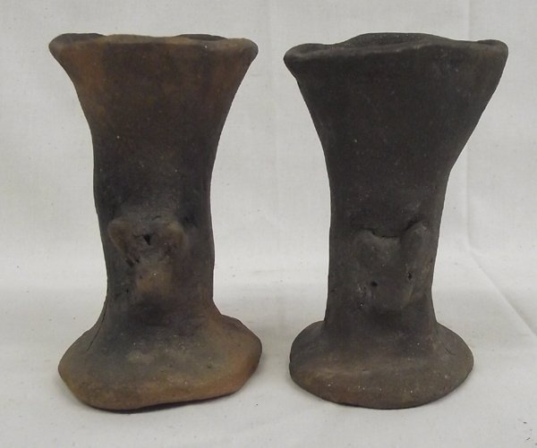 2 Pieces Vintage Taos Doghead Pottery