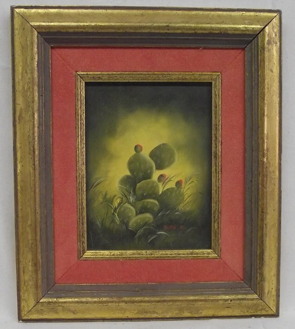 Framed and Matted Signed Original Painting