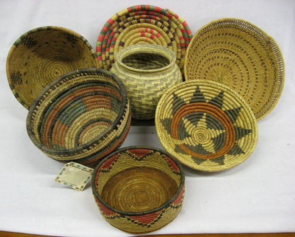 Collection of Tribal Baskets