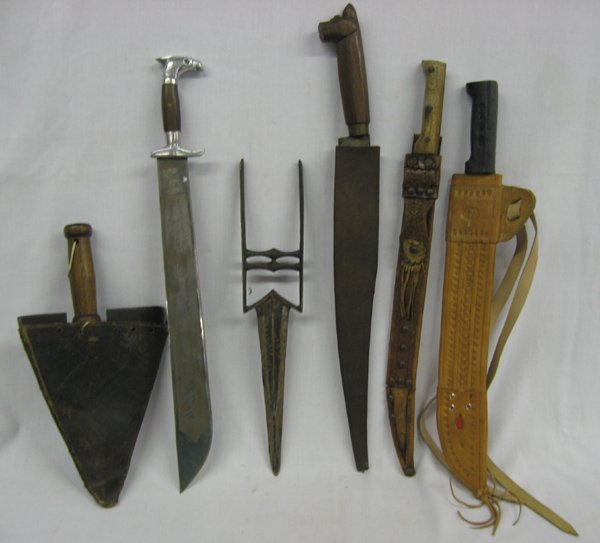 Collection of Six Knives
