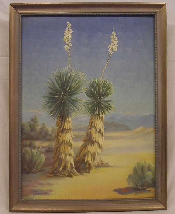 Original Oil Painting by Artist Van Muncy