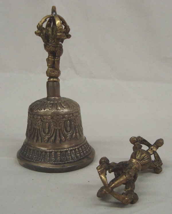 Vintage Tibetan Buddhist Prayer Meditation Accessories