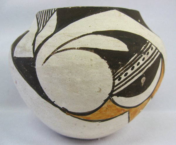 1950's Acoma Polychrome Pottery Jar