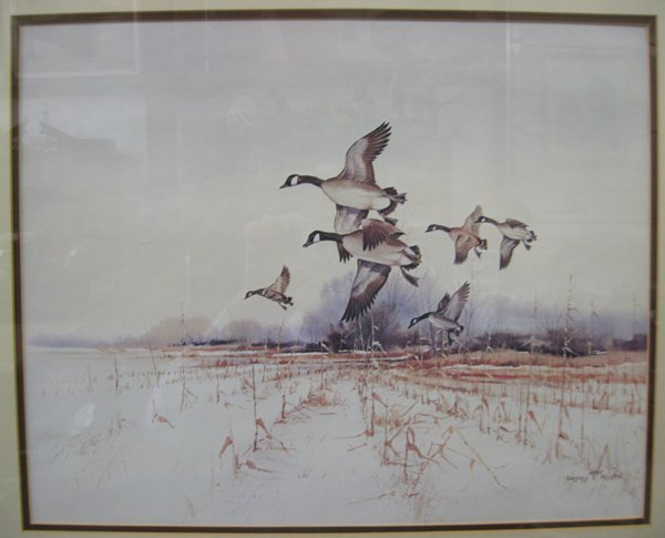 Framed Wildlife Print by Gregory F. Messier - 2