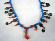 1800 Trade Bead Trinket Necklace