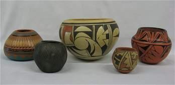 Collection of Pueblo Pottery