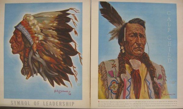 1938 & 1948 Nick J. Schwab Jr. Prints