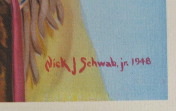 1938 & 1948 Nick J. Schwab Jr. Prints - 3