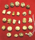 Fabulous Collection of Bone Ivory Beads