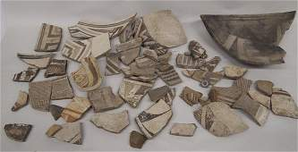 Classic Prehistoric Mimbres Pottery Sherds