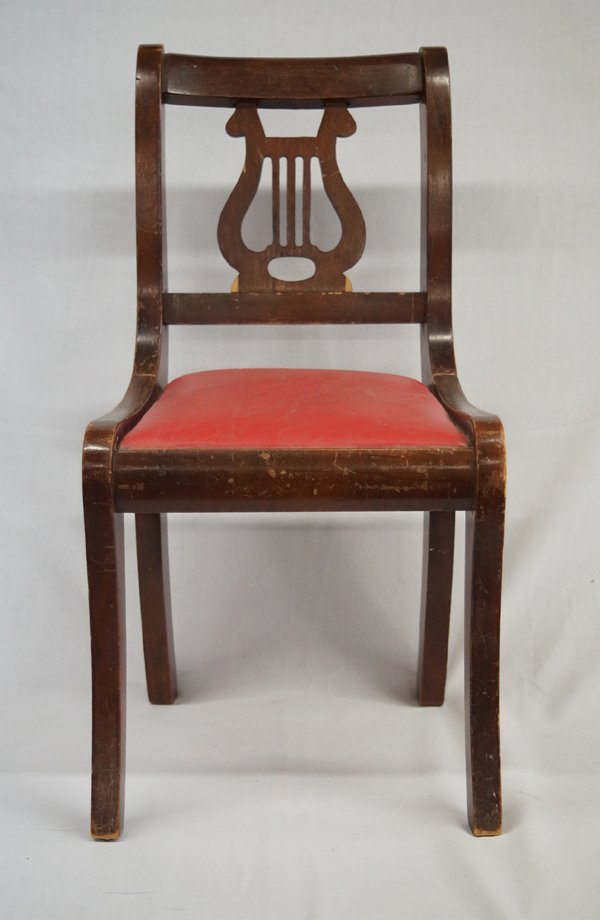 Antique Duncan Phyfe Lyre Back Child S Chair