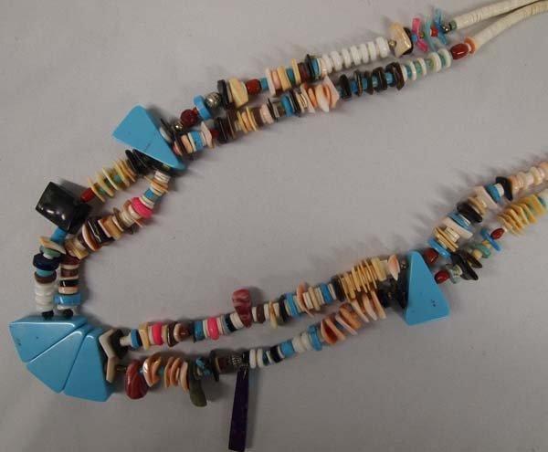 Santo Domingo Multi-Stone Pendant Necklace