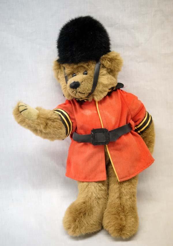 Vintage 1993 Ty Queen's Guard Soldier Teddy Bear