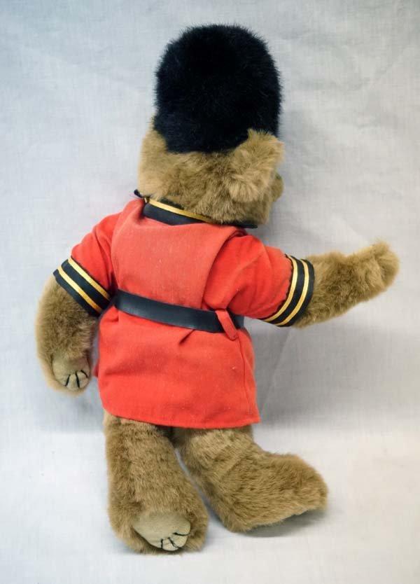 Vintage 1993 Ty Queen's Guard Soldier Teddy Bear - 2