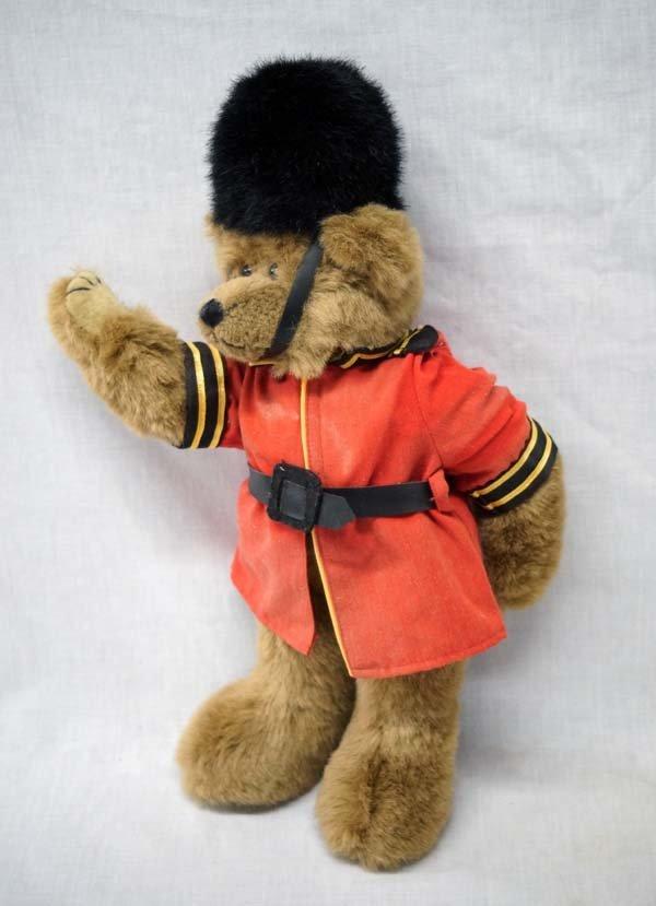 Vintage 1993 Ty Queen's Guard Soldier Teddy Bear - 3