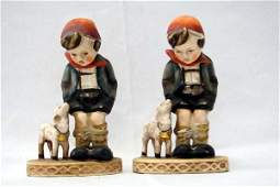 Pr Occupied Japan Hummel Style Figurines