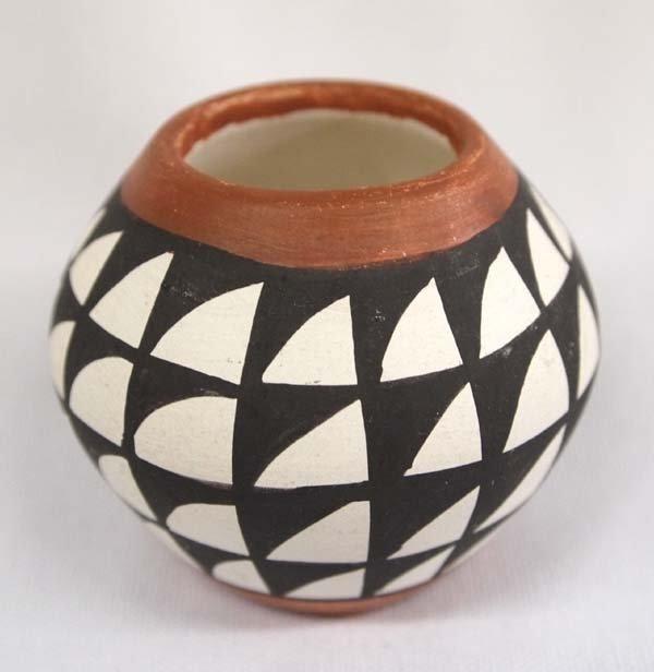 Acoma Miniature Pottery Jar by Margaret Ascencio