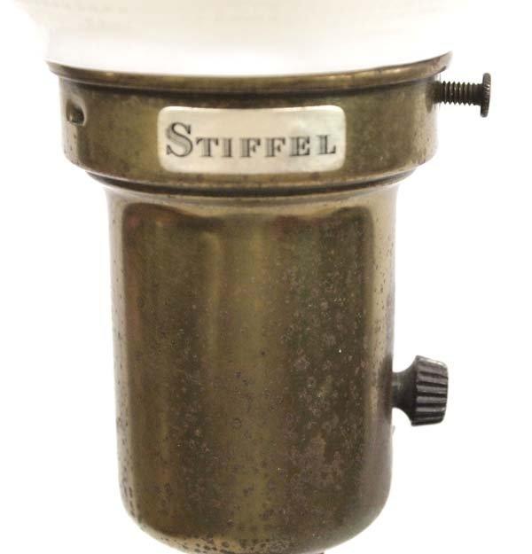 Antique Stiffel Lamp - 2