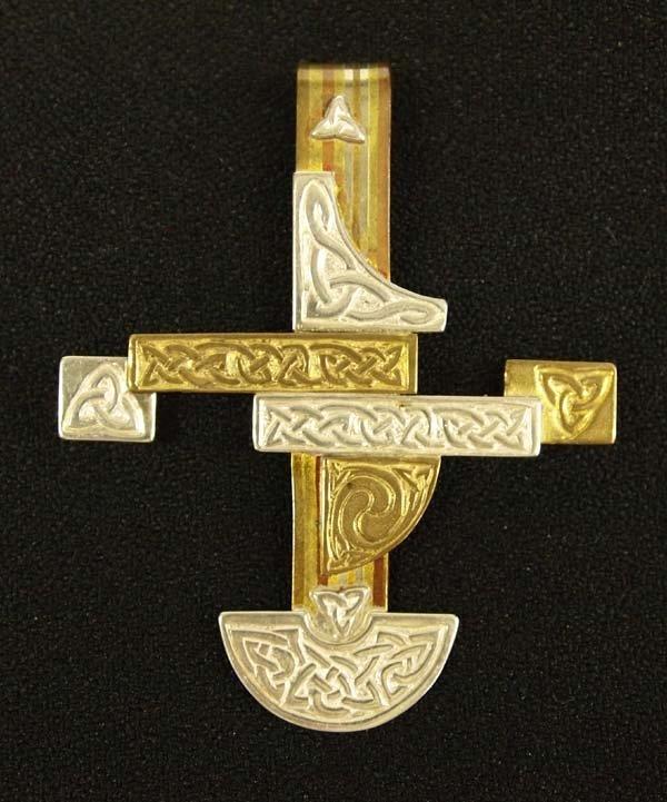 Walker Metalsmiths Celtic Cross Pendant