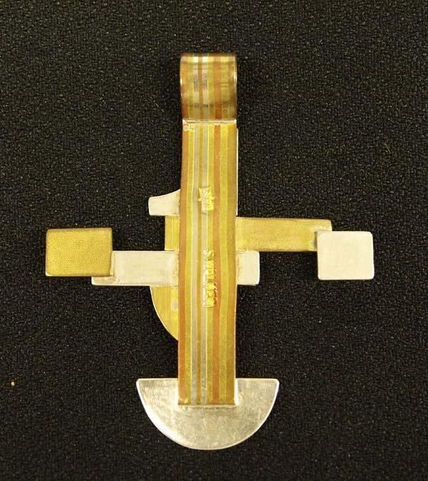 Walker Metalsmiths Celtic Cross Pendant - 2
