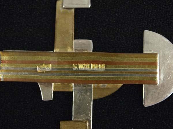 Walker Metalsmiths Celtic Cross Pendant - 3