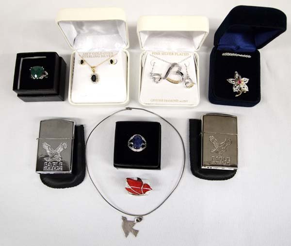 Collection of Jewelry, some Gold over Sterling