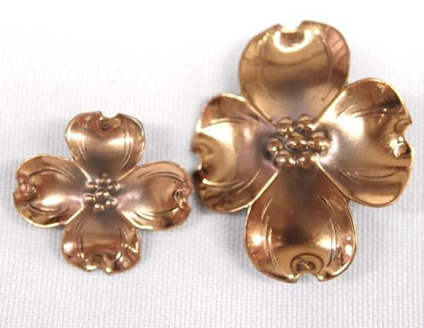 1940 Stuart Nye Copper Pins