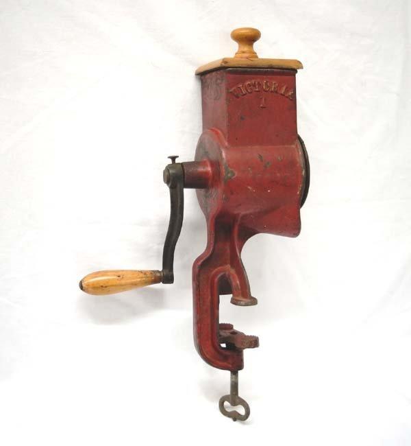 Antique Cast Iron Victoria Grain Mill Grinder