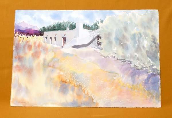 1997 Original Southwestern Watercolor by Budway