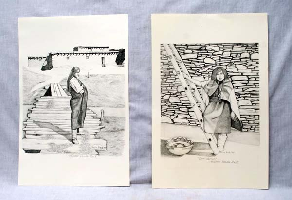 2 Signed and Numbered Prints by Paula Beck