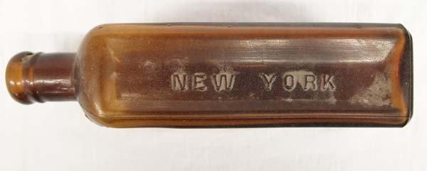 Antique H. Clay Glover D.V.S. Mange Remedy Bottle - 3