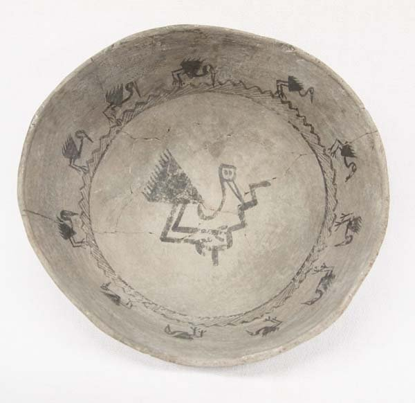 Prehistoric San Marcos Pottery Picture Bowl