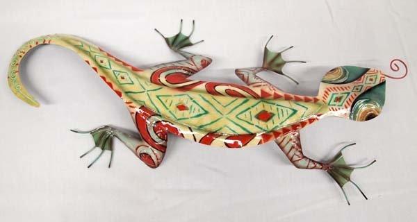Metal Wall Art Gecko - 2