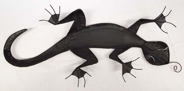 Metal Wall Art Gecko - 3