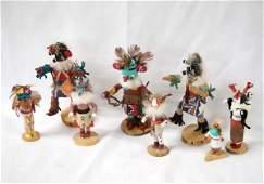 Collection of 8 Navajo Miniature Kachinas