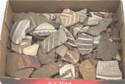 Prehistoric Native American Mimbres Pottery Sherds