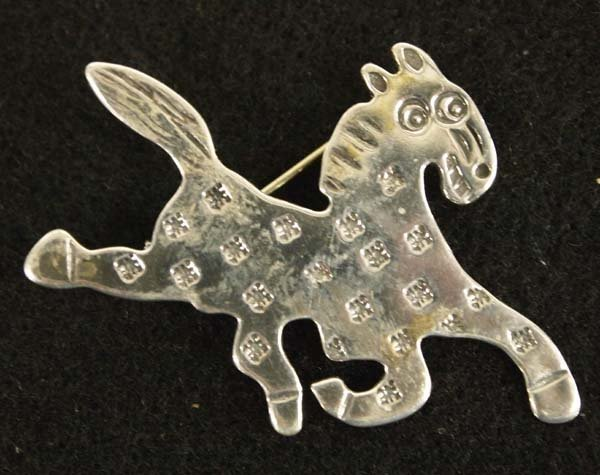 Carolyn Pollack Relios Sterling Silver Horse Pin