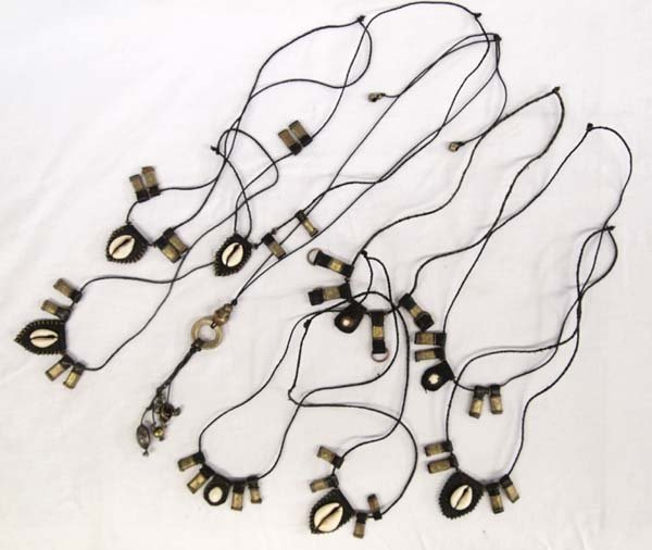 Collection of 9 East India Trade Necklaces