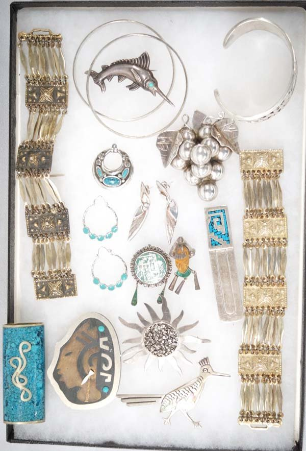 Mexican Taxco Sterling Silver Jewelry