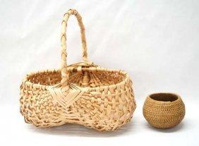 2 Native American Baskets