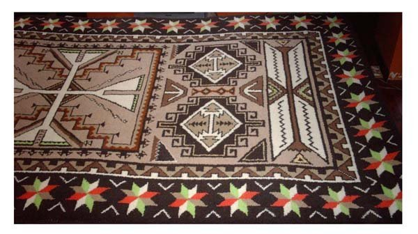 Brand New 100 Percent Wool Hand Knotted Area Rug