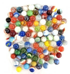 Collection Of 100+ Marbles