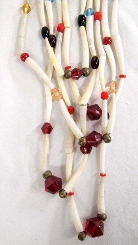 Northern California Pomo Dentalium Necklace