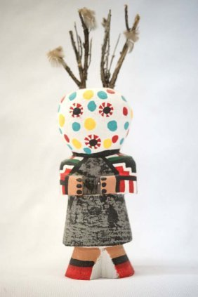 Vintage Route 66 Masau'a Kachina By Leroy Pooley