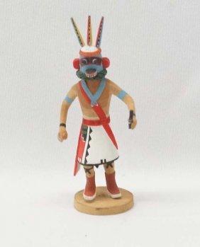 Native American Hopi Carved Wood Miniature Kachina