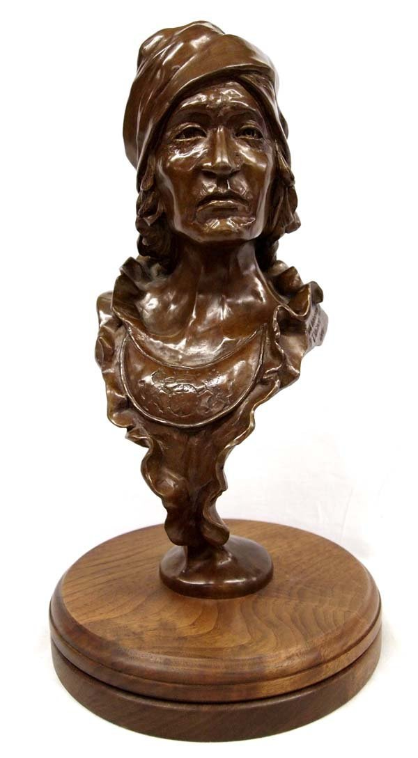 1984 Cherokee Bronze ''Tachee'' by Troy Anderson
